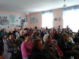 В сельском поселении Охлебининский сельсовет прошел праздник посвященный Дню пожилого человека.